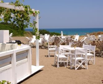 White Ostuni Beach Club