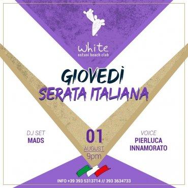 Giovedi Serata Italiana
