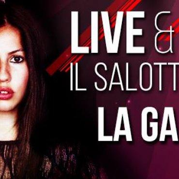 Live and Dinner - il salotto sul mare con La Gabry Singer