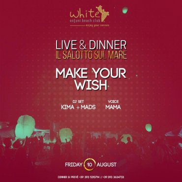 LIVE & DINNER MAKE YOUR WISH