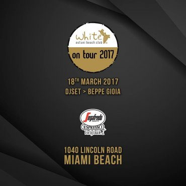 White On Tour 2017 - Miami Beach