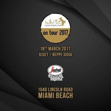 White On Tour 2017 - Miami Beach