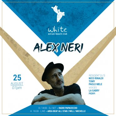 Sunday Aperiwhite with Alex Neri