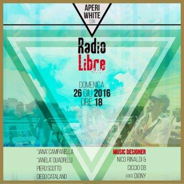 Aperi-white with Radio Libre