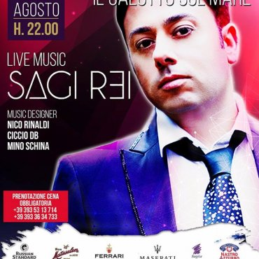 Live and Dinner con SAGI REI