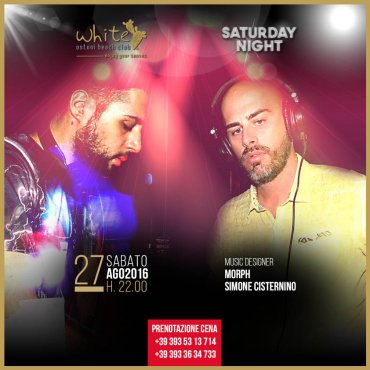 Saturday Night al White Ostuni Beach Club