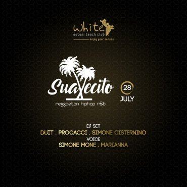 Suavecito White Ostuni Beach Club