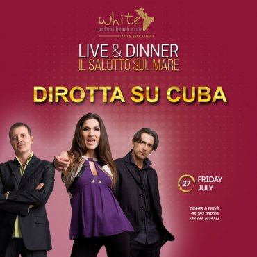 Il salotto sul mare live & dinner, 27 Luglio
