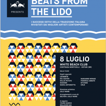 Beats from the lido Viva Festival @ White Ostuni Beach Club