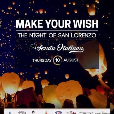 Make your wish - The night of San Lorenzo