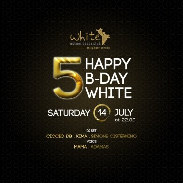 Happy B-Day White 5 anni