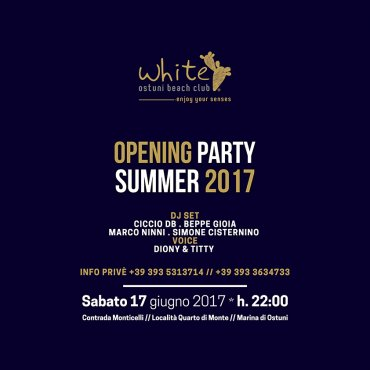 Opening Party Summer 2017