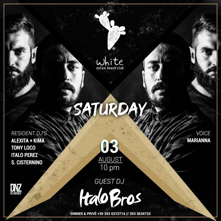 Saturday Night with Italo Bros