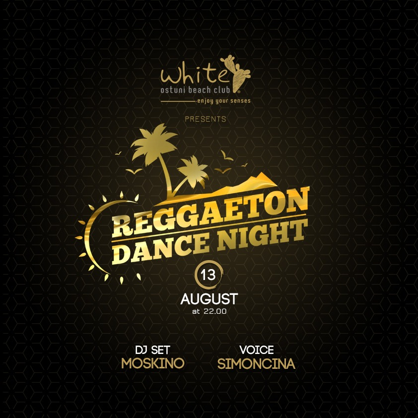Reggaeton dance night 13 Agosto