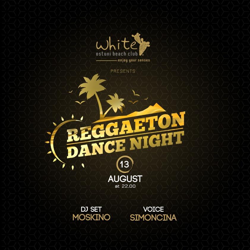 Reggaeton dance night 13 Agosto