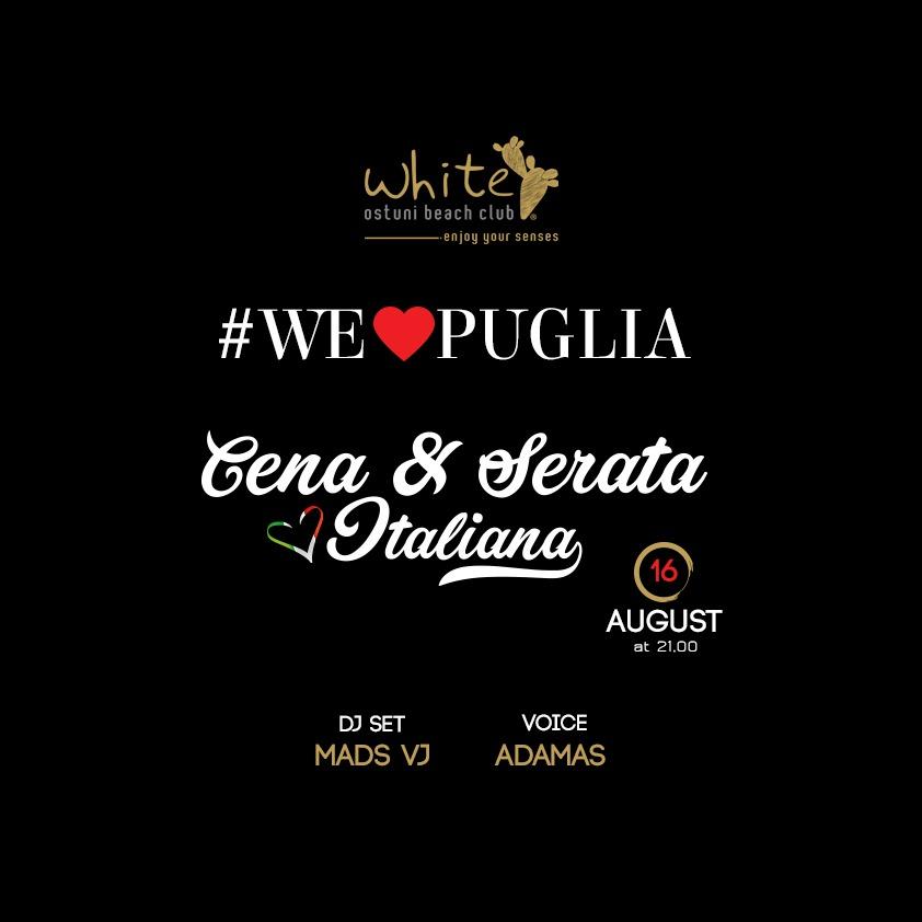 We Love Puglia 16 Agosto
