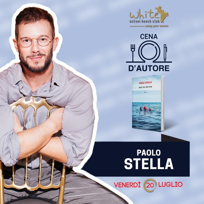 A CENA CON L'AUTORE 20/07/2018 con Paolo Stella