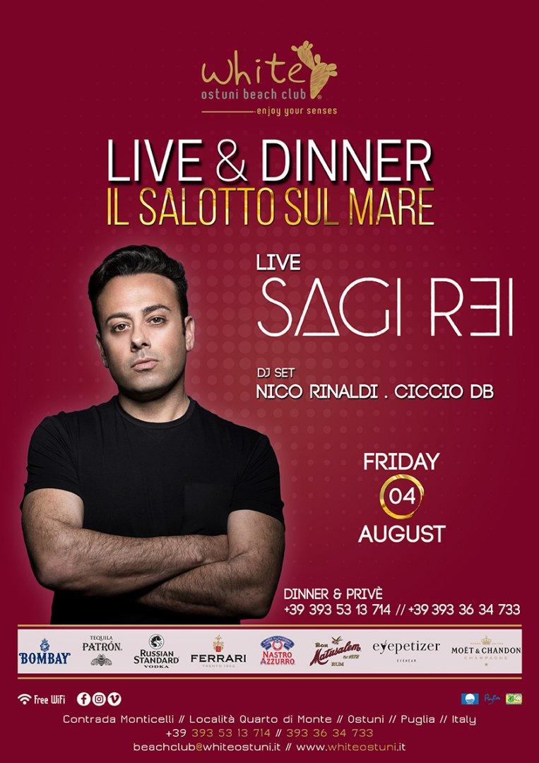 Live&Dinner Il Salotto sul Mare Live Sagi Rei