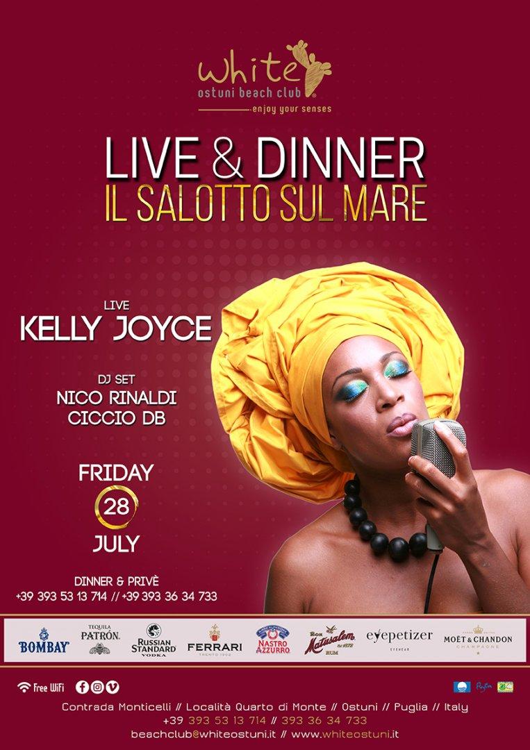Live&Dinner Il Salotto sul Mare Live Kelly Joyce