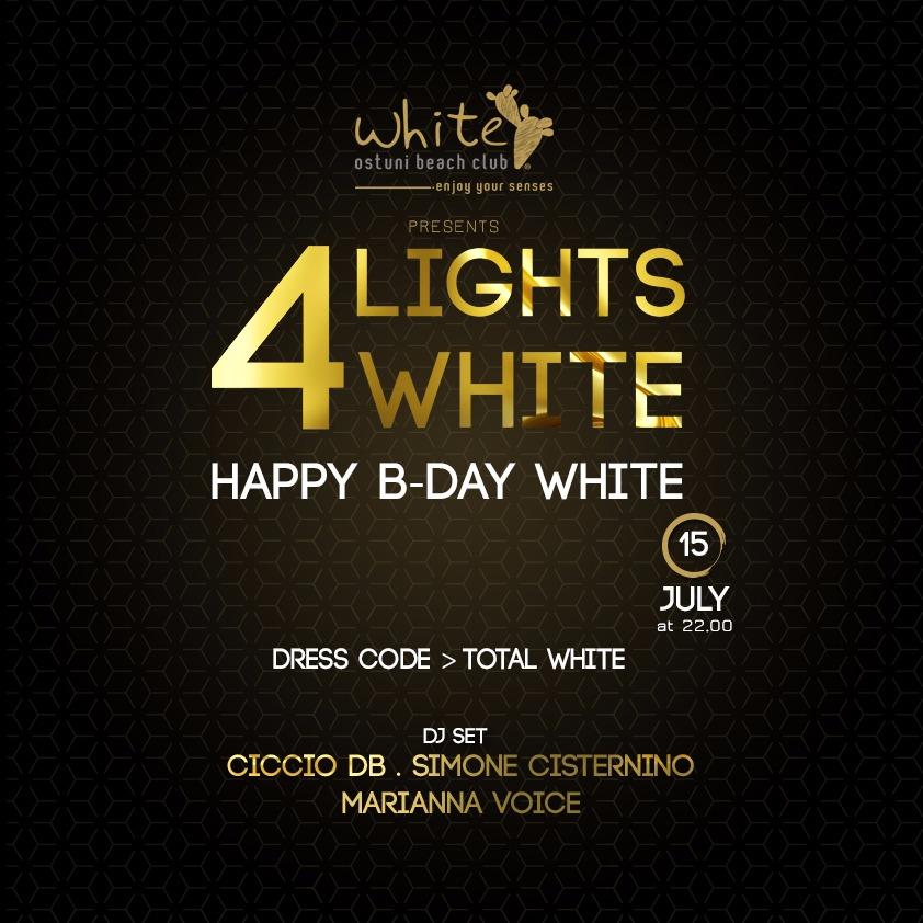 LIGHTS 4 WHITE